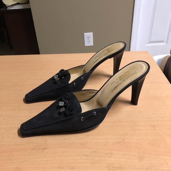 Donald J. Pliner Shoes - Donald J Pliner Mule Pumps Black 7.5